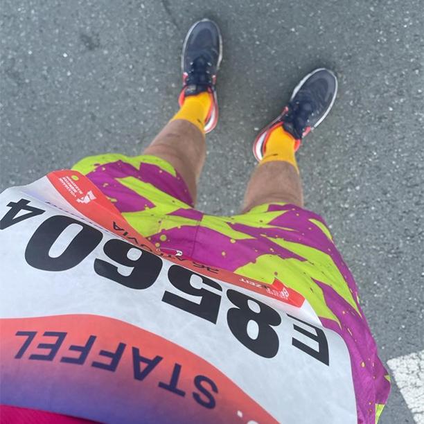 BDA Staffel beim Münster Marathon