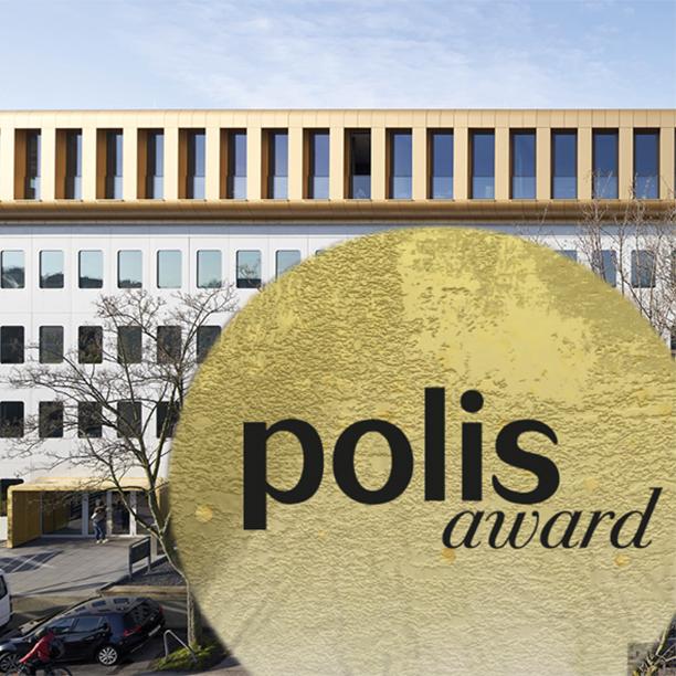 Die Werft gewinnt GOLD – polis award 2021