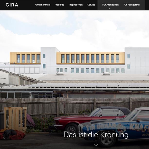 GIRA Newsletter zeigt die Werft und KRESINGS